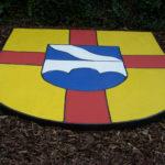 Das Wappen der Gemeinde Bous im Saarland