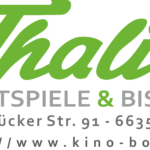 zu sehen ist das Logo des Thalia Kino Bous
