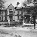 zu sehen ist ein altes Foto vom ehemaligen Bouser Rathaus