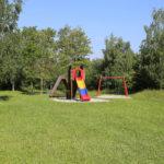 zu sehen ist eine Spielanlage auf dem Spielplatz Faultrieschen