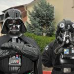 zu sehen ist die Filmfigur Darth Vader aus Krieg der Sterne  auf der Maisause in Bous