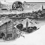 zu sehen ist eine alte Postkarte aus Bous