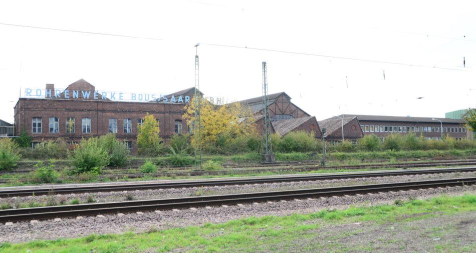 Das Stahlwerk der Gemeinde Bous