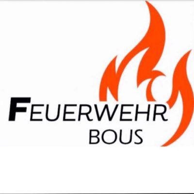 Hier sehen Sie das Logo der Feuerwehr  Bous