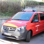 Fahrzeug der Feuerwehr der Gemeinde Bous