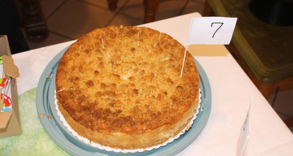 zu sehen ist der Apfelkuchen Nummer 7