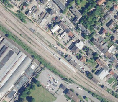 Bauarbeiten auf der Bahnstrecke Bous-Dillingen