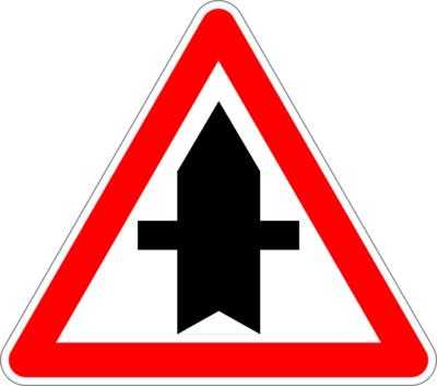 Achtung – Vorfahrt in der Bahnhofstraße geändert